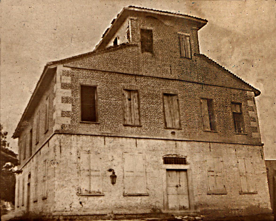 Το ξενοδοχείο στις αρχές του 20 αιώνα.