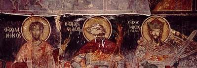 Αλεποχώρι - μεταβυζαντινές τοιχογραφίες